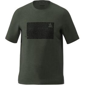Zimtstern Shiningz T-Shirt Herren grün